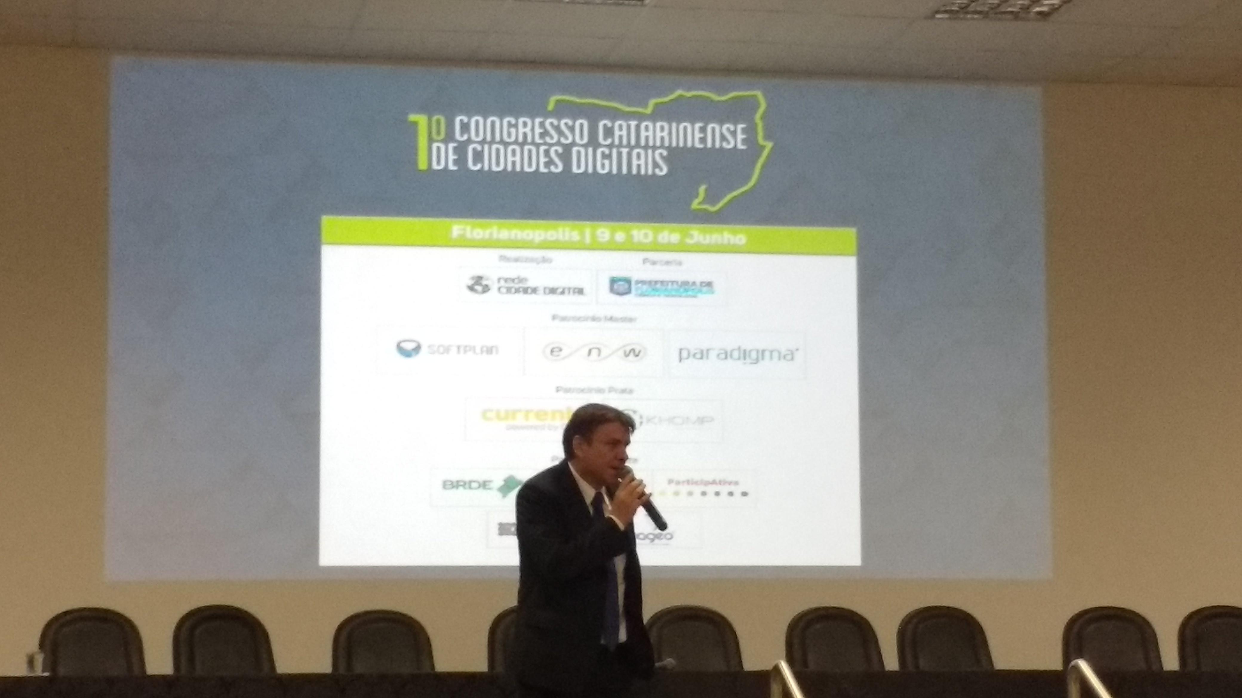 1º Congresso Catarinense De Cidades Digitais