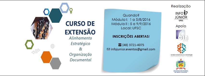 Curso De Extensão: Alinhamento Estratégico & Organização Documental
