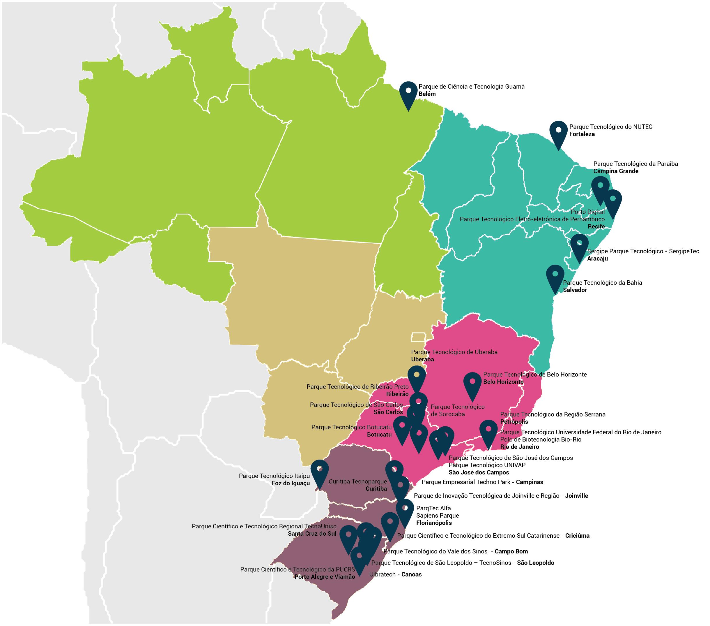 Parques Em Operação No Brasil