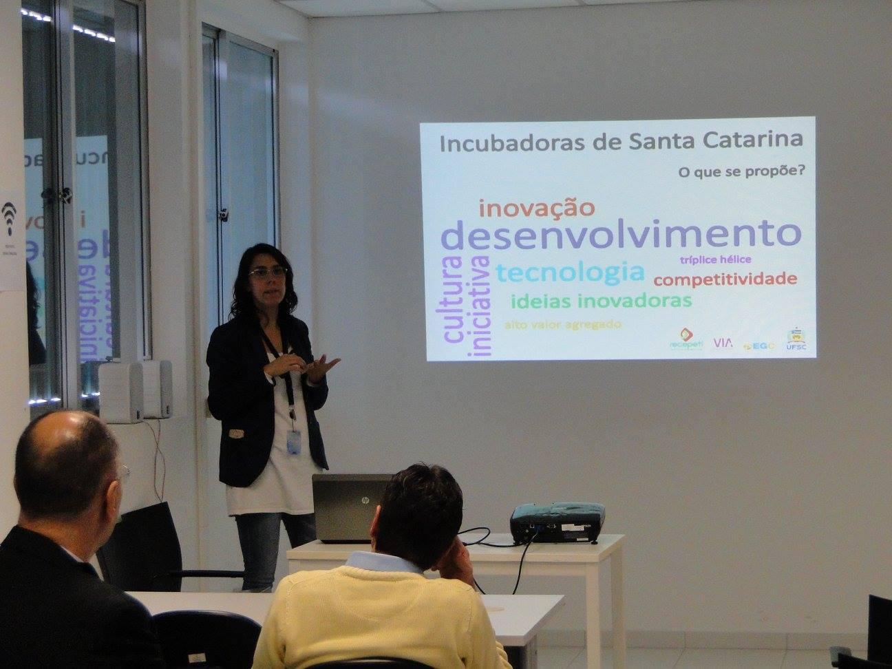 Reunião De Incubadoras De Santa Catarina
