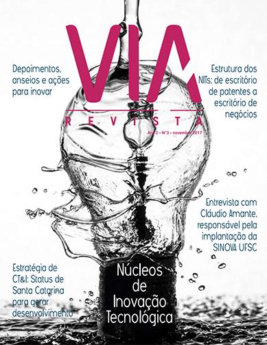 VIA Revista Traz Papéis De Núcleos De Inovação Tecnológica