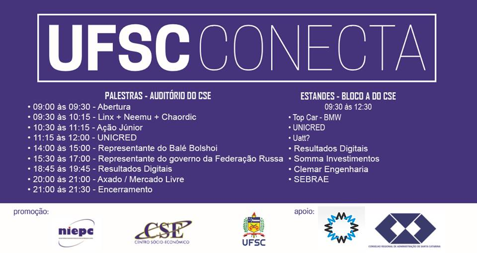 VIA No UFSC CONECTA