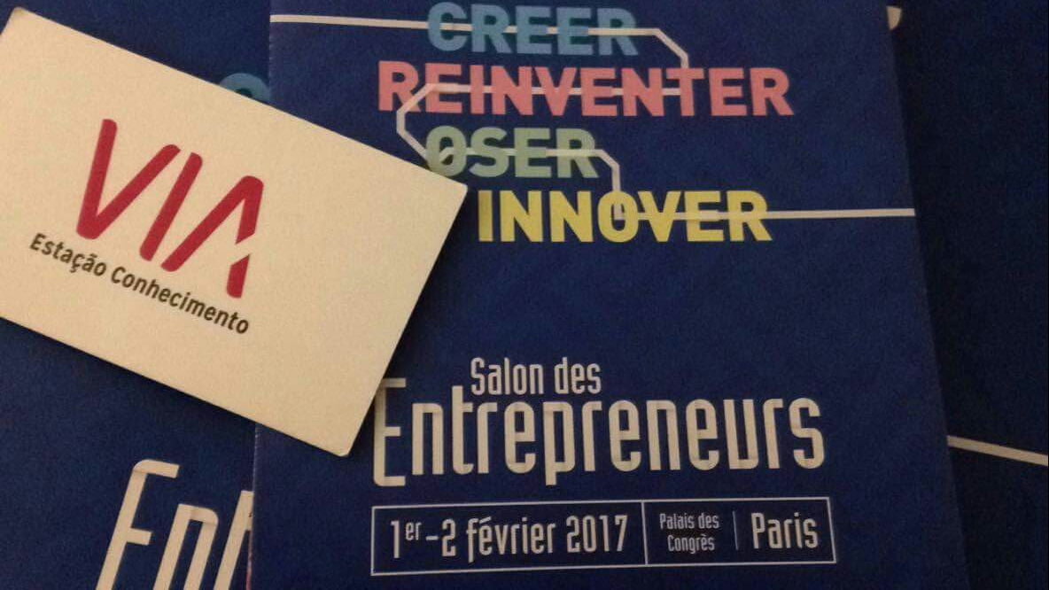 Via No Salon Des Entrepreneurs Em Paris!