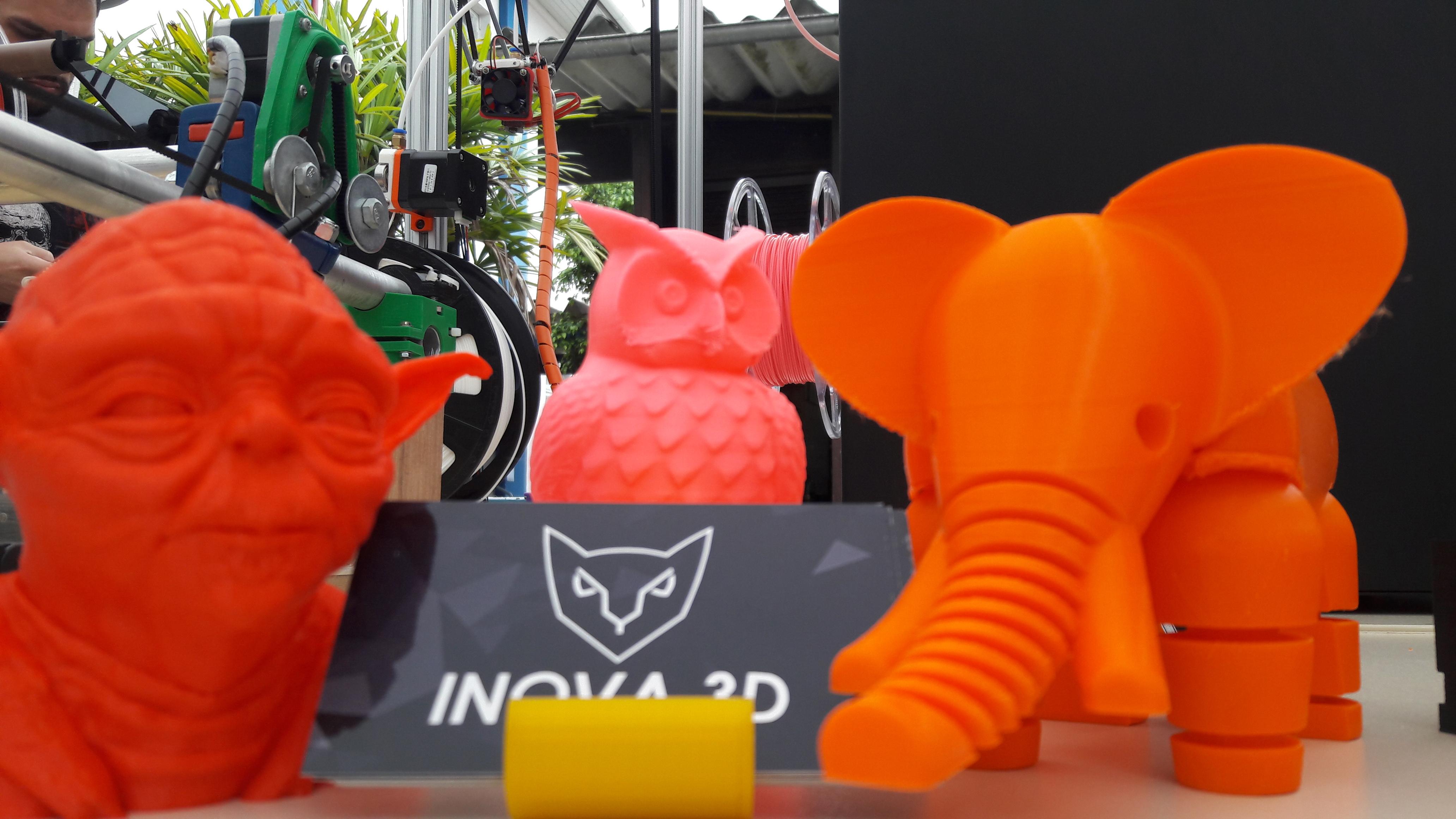 1º Encontro De Impressão 3D Em Joinville :)
