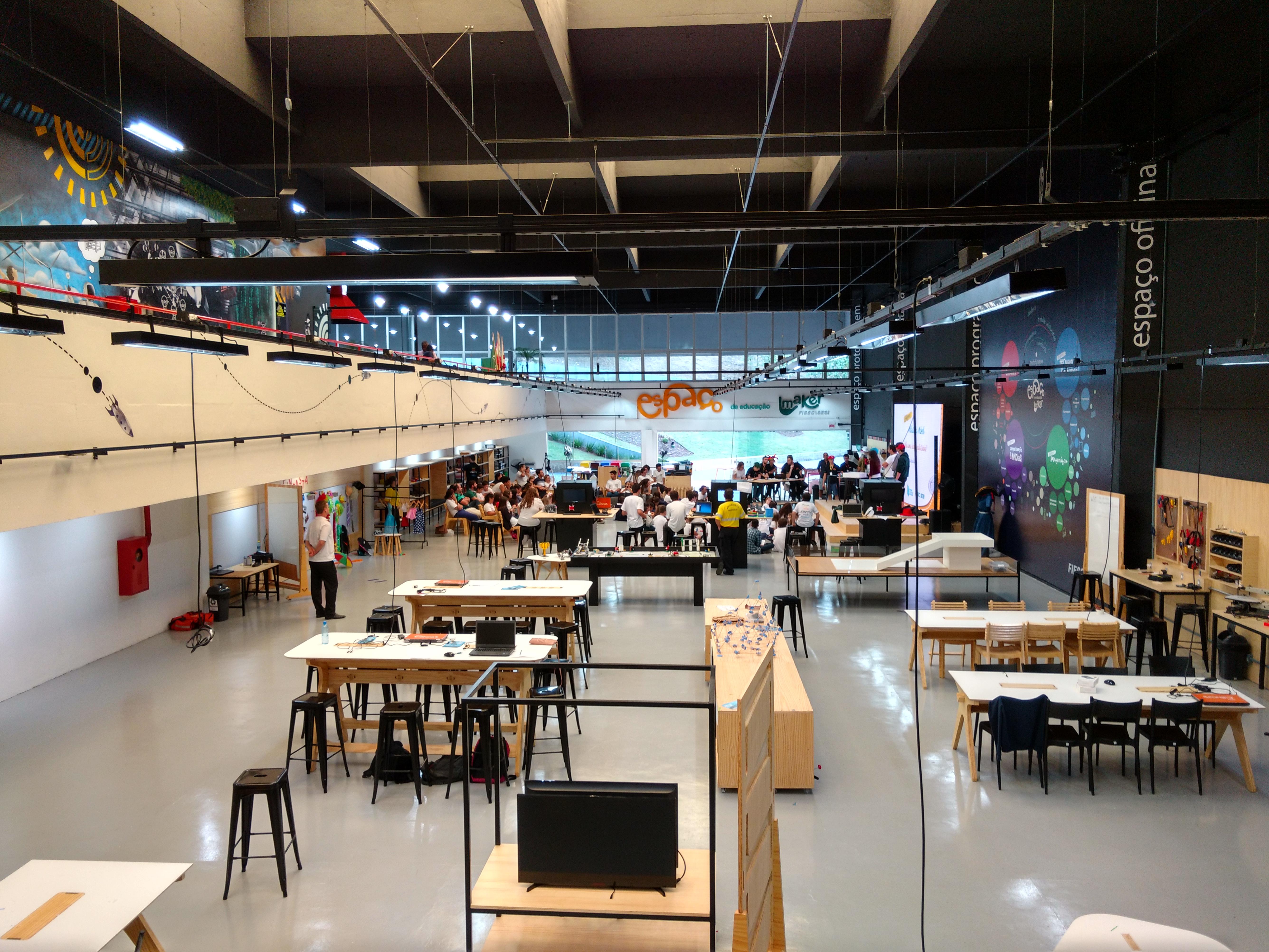 VIA Em Tour – Espaço De Educação Maker Blumenau