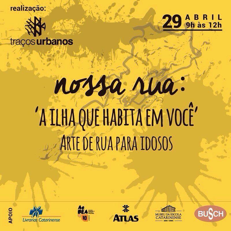 """""""Nossa Rua"""": Movimento Traços Urbanos Realiza Oficina De Arte Neste Final De Semana"""