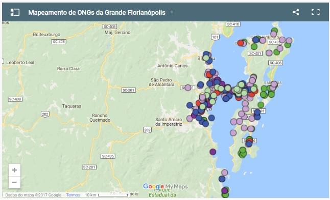 ICOM Tem Mapa De ONGs Da Grande Florianópolis!