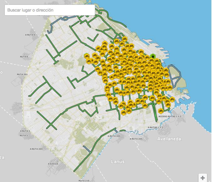Mapa Com Estações
