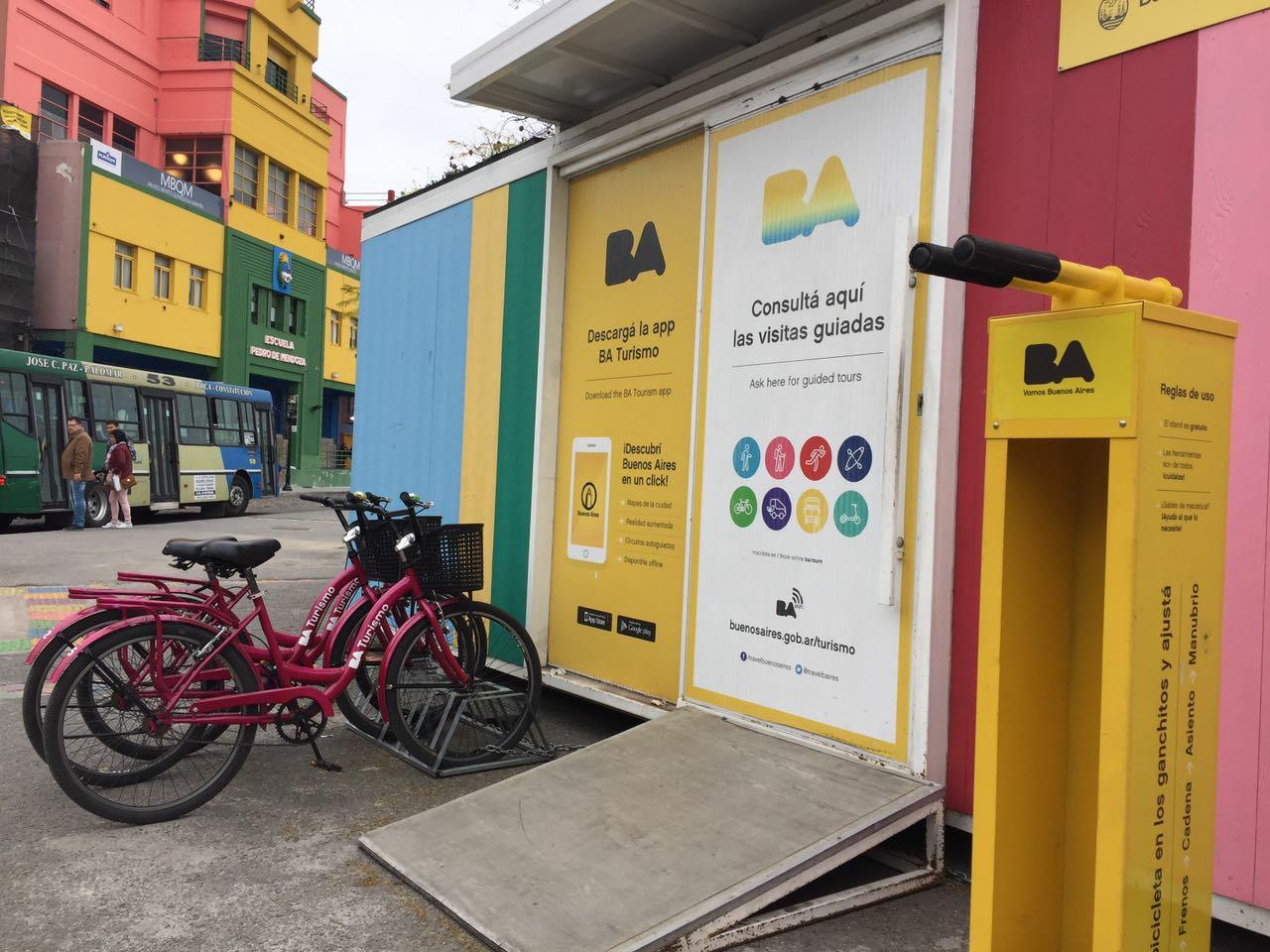 Estações De Bicicletas Para Turistas