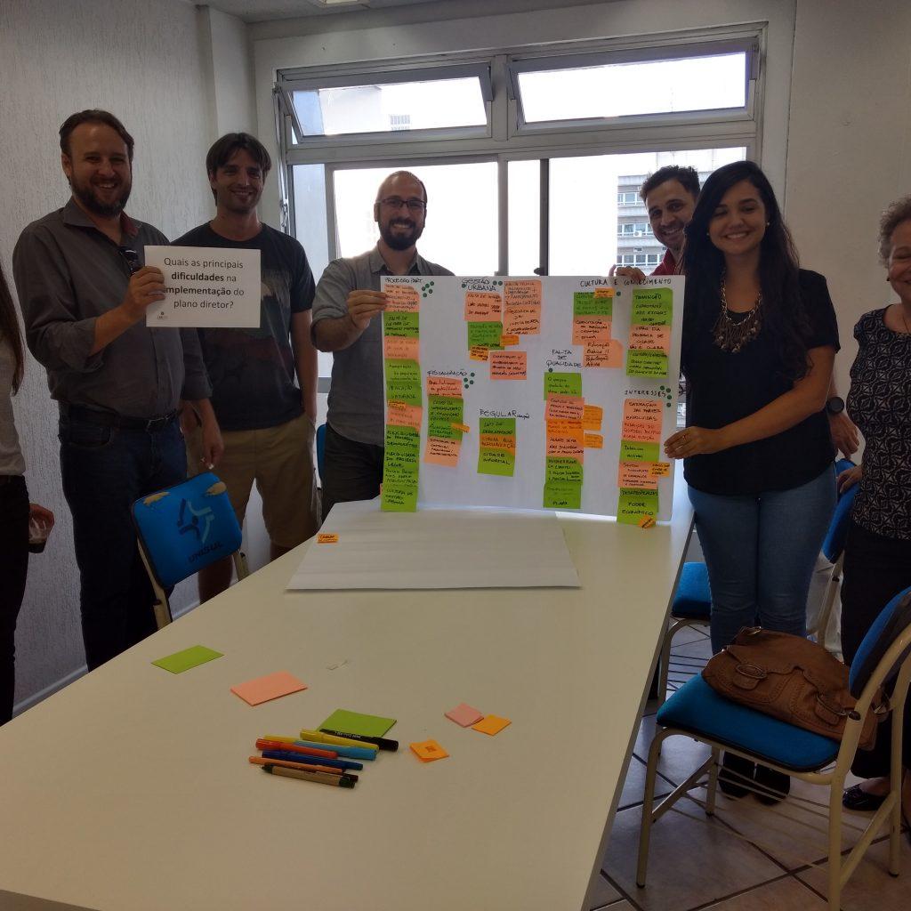 Participantes Da Oficina Sobre Plano Diretor
