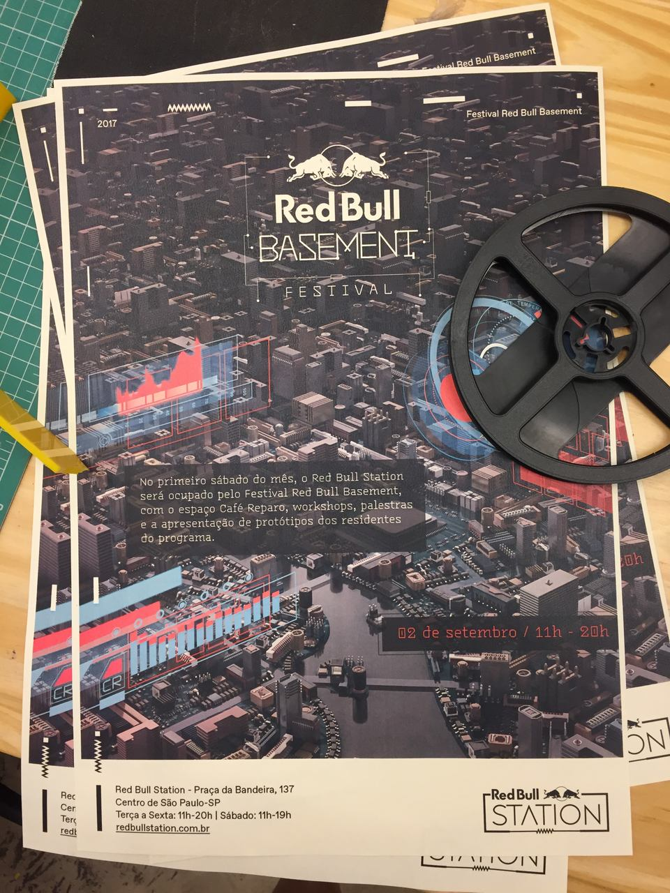 Makerspace Red Bull Basement