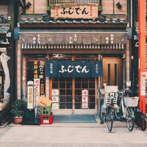 Restaurante Local Em Toquio, Japão