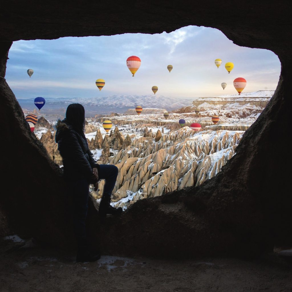 Balonismo Na Capadócia, Turquia