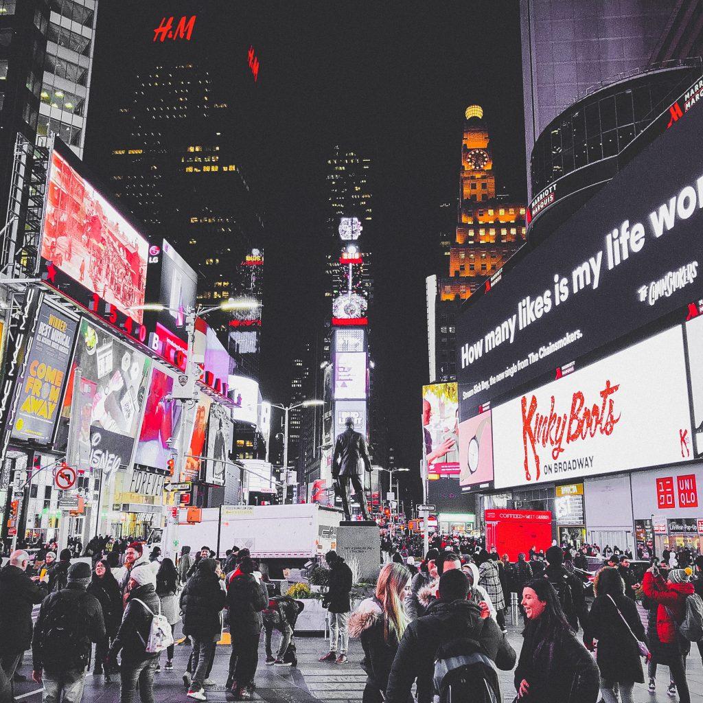 Theater District Em Nova Iorque, EUA