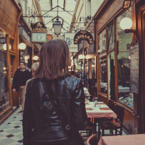 Passage Des Panoramas Em Paris, France