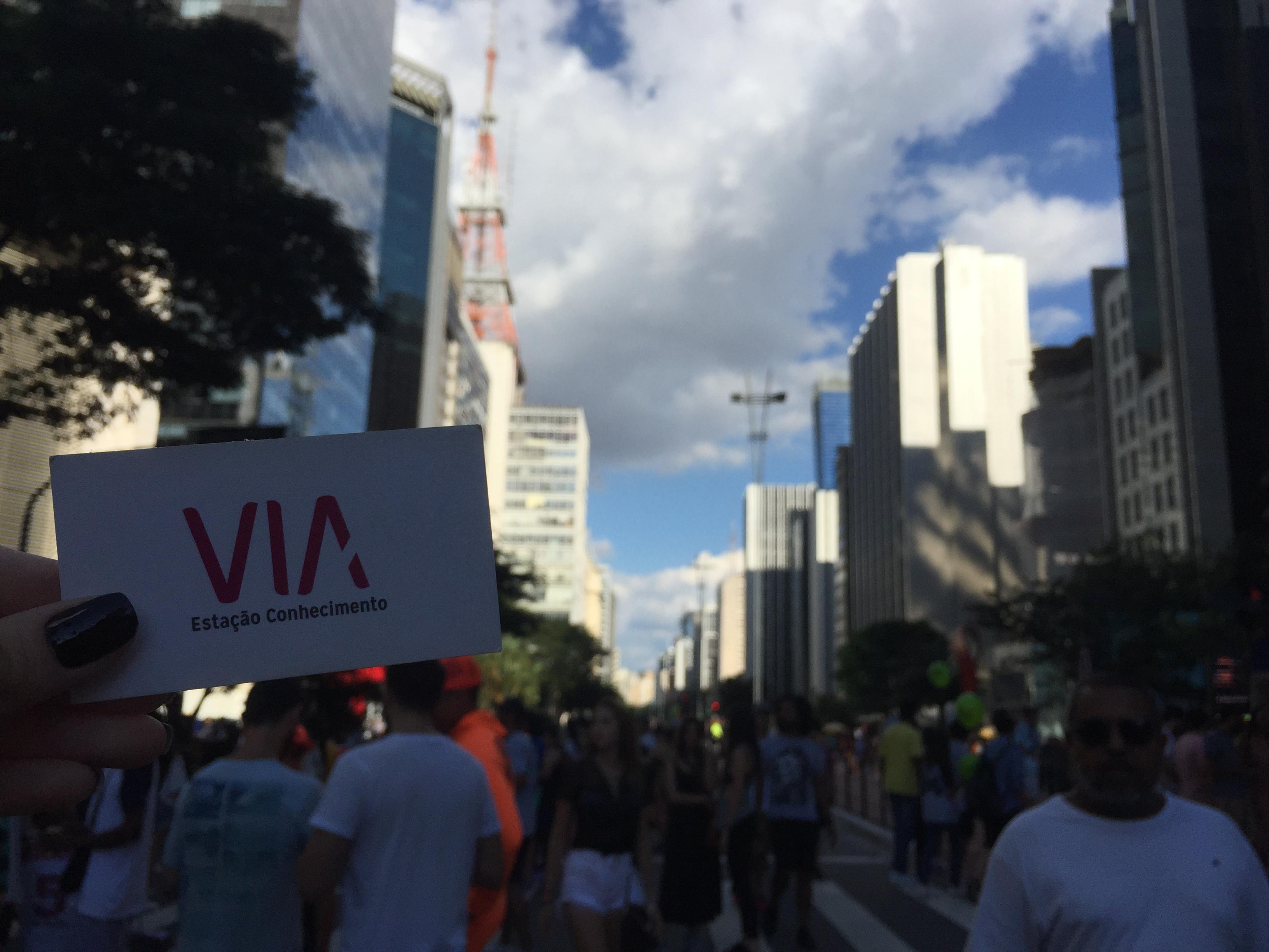 A Avenida Paulista Aberta Aos Domingos Para Uso Cidadão