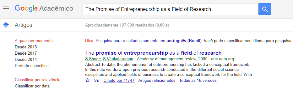 conceitos de empreendedorismo