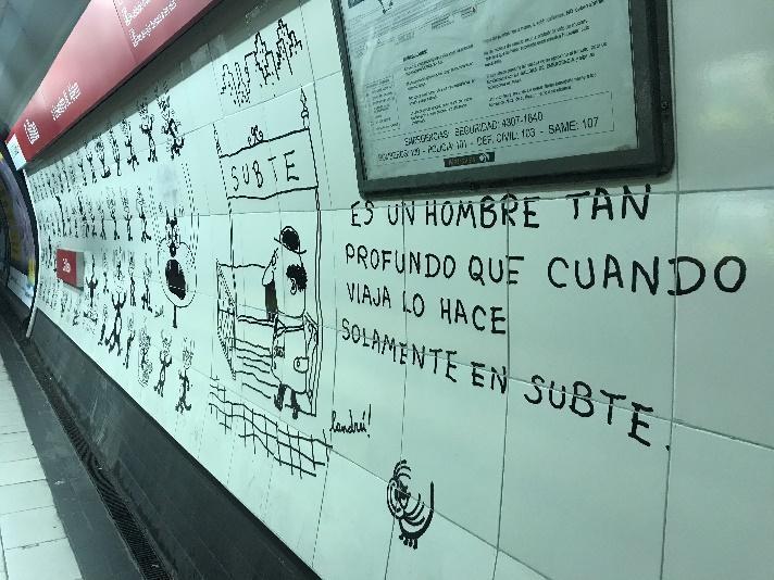Arte No Metrô De Buenos Aires