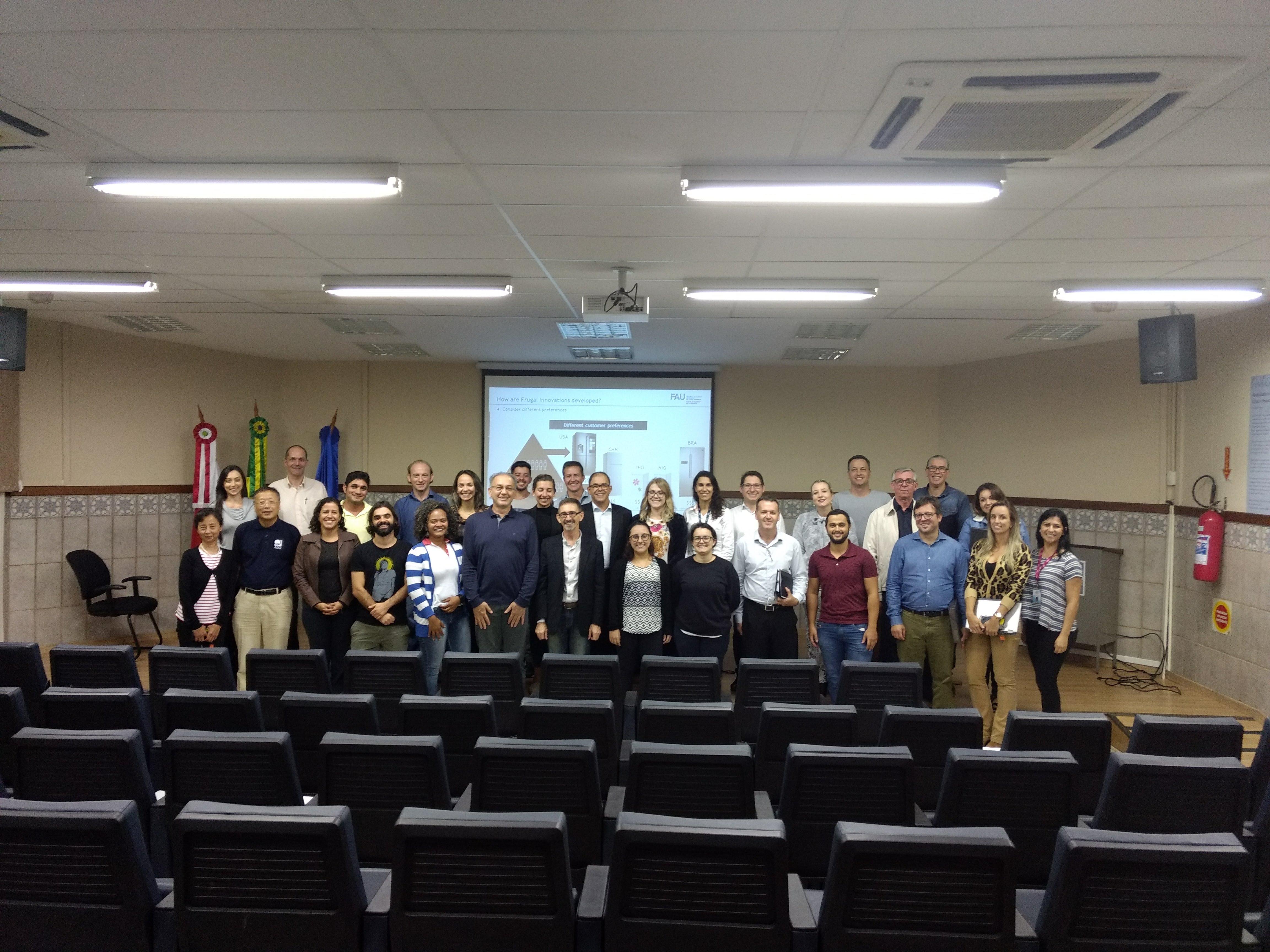 Inovação Frugal é Tema De Discussão Na UFSC