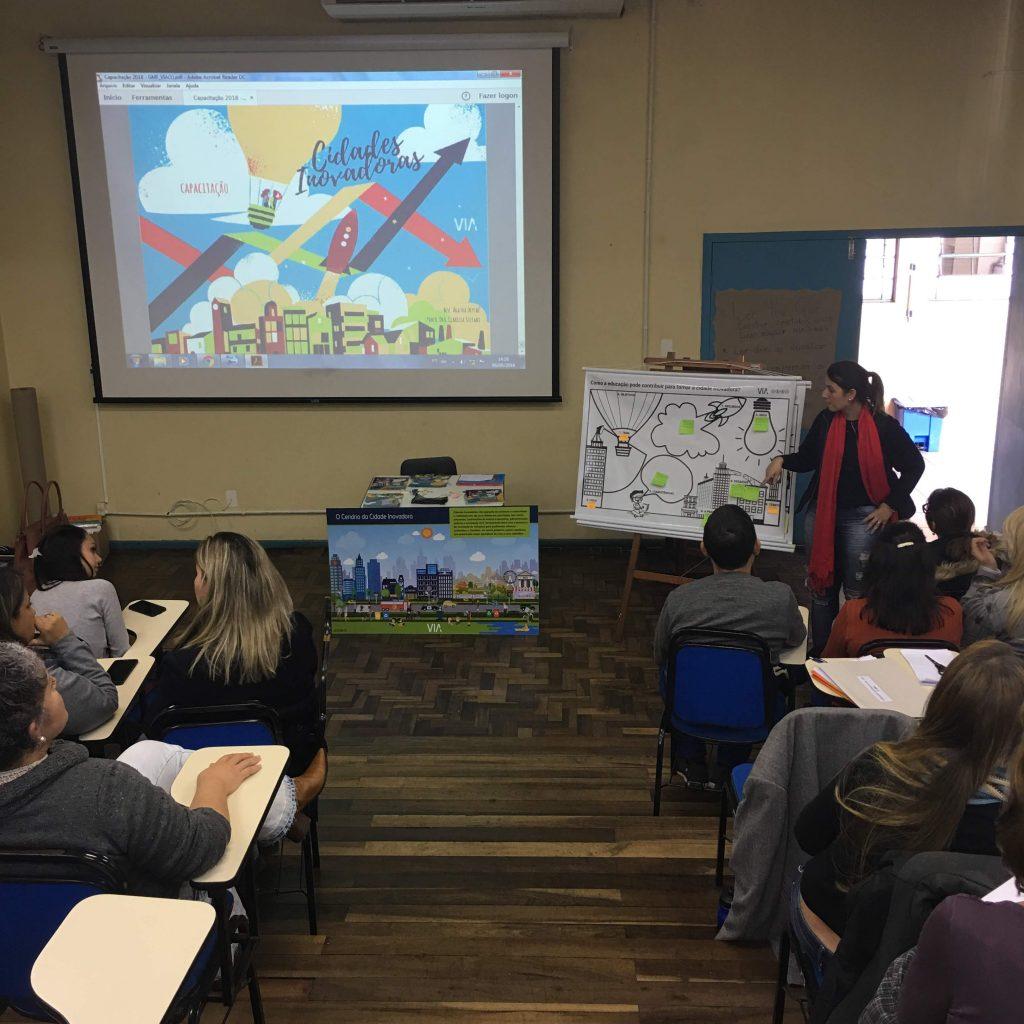 Atividade Em Grupo Com O Canvas: Como A Educação Pode Tornar Uma Cidade Inovadora?