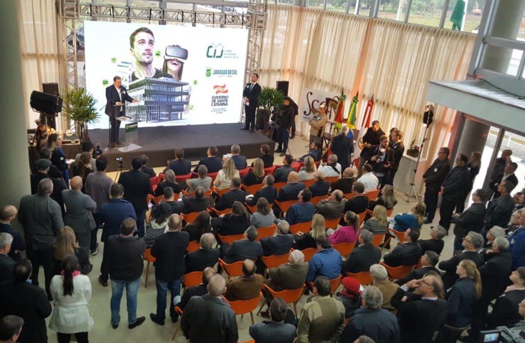 Inauguração Do Centro De Inovação De Jaraguá Do Sul