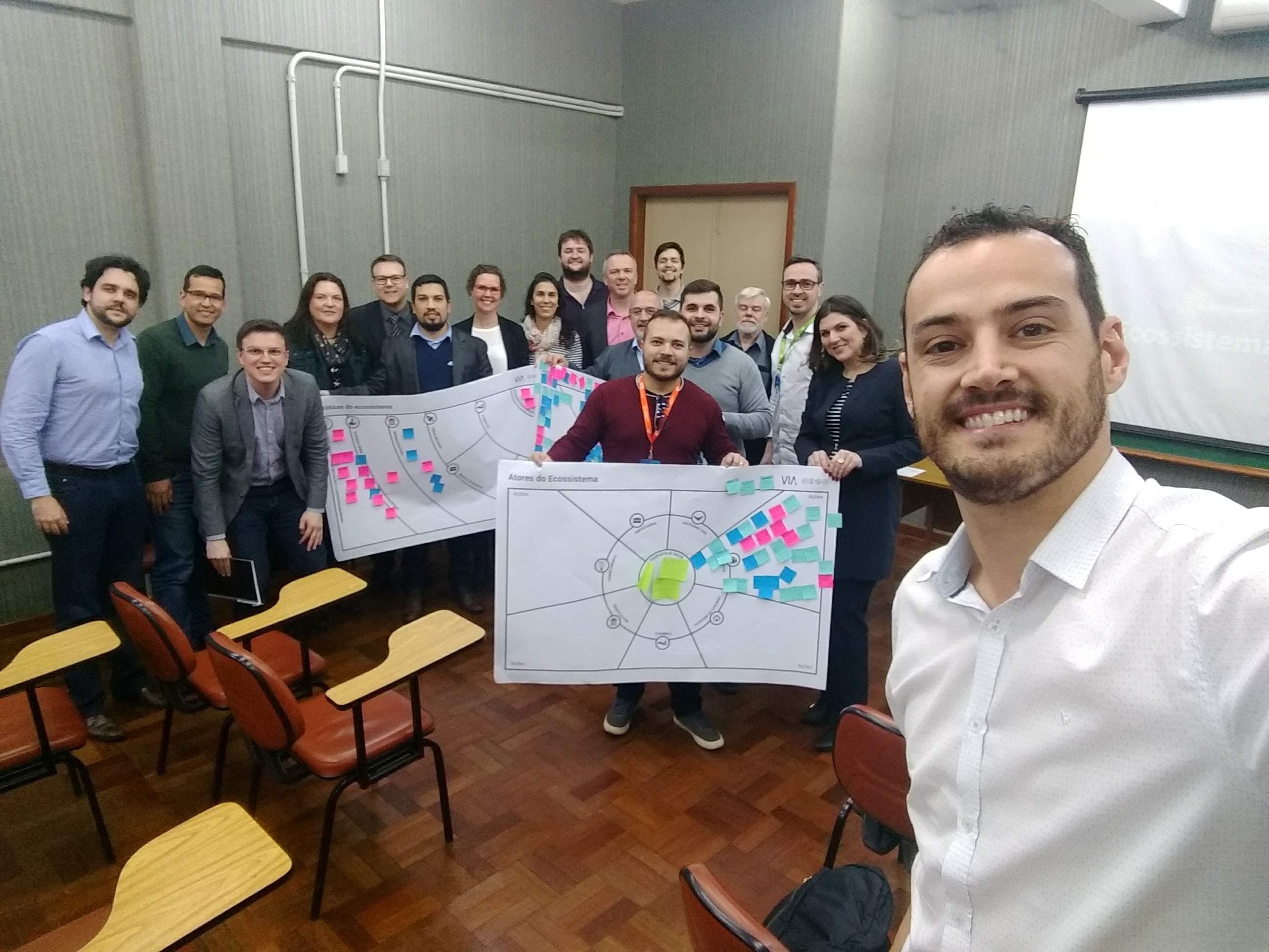 Workshops VIA Para Ecossistema De Inovação