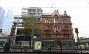 Foto do prédio histórico que se localiza o coworking