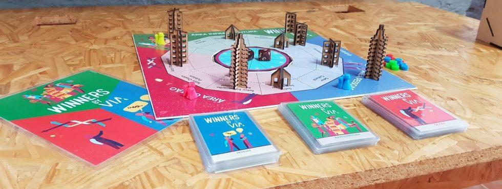 Imagem Com Vista Frontal Do Tabuleiro Do Jogo Winners By VIA