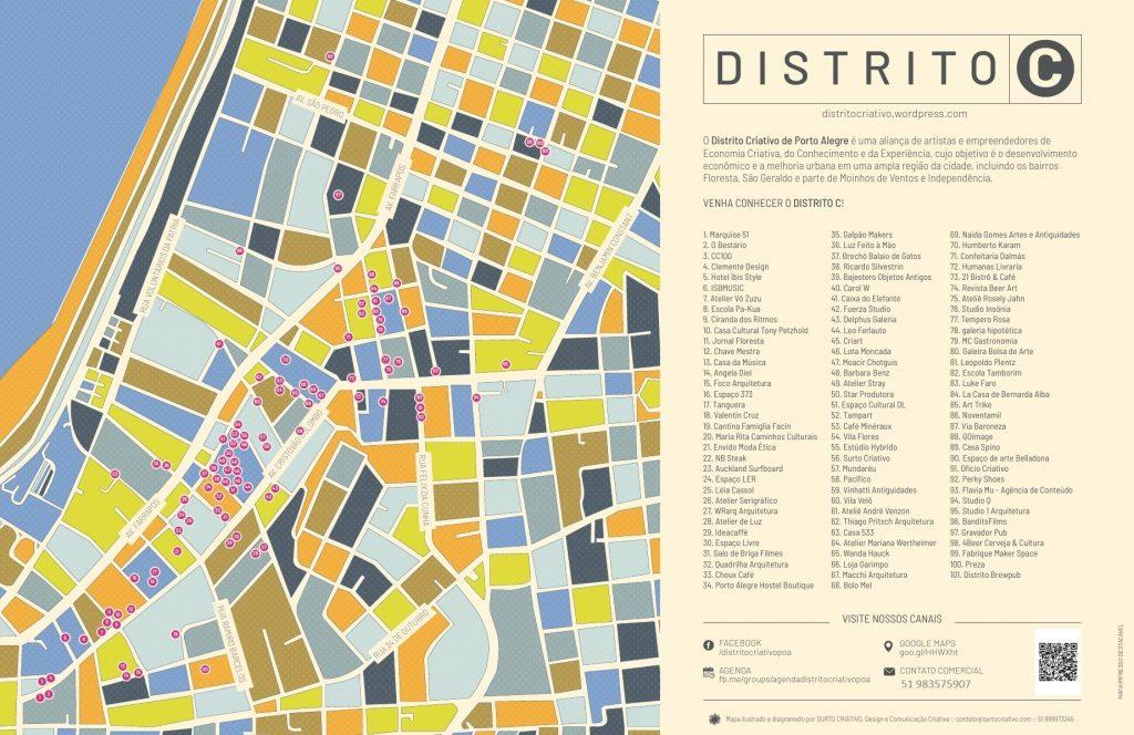 Mapa Distrito C