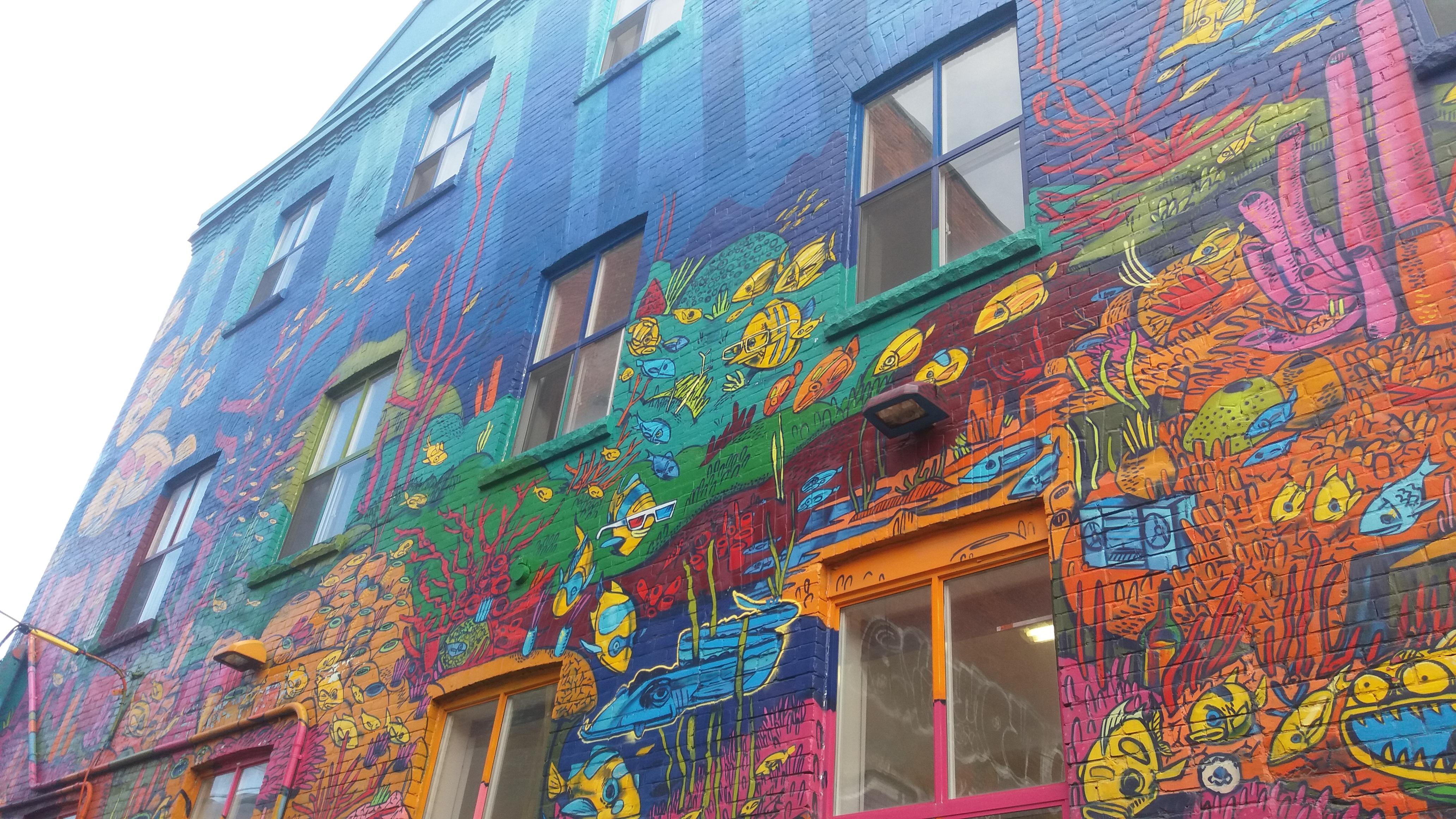 Arte Urbana Em Toronto: Graffiti Alley