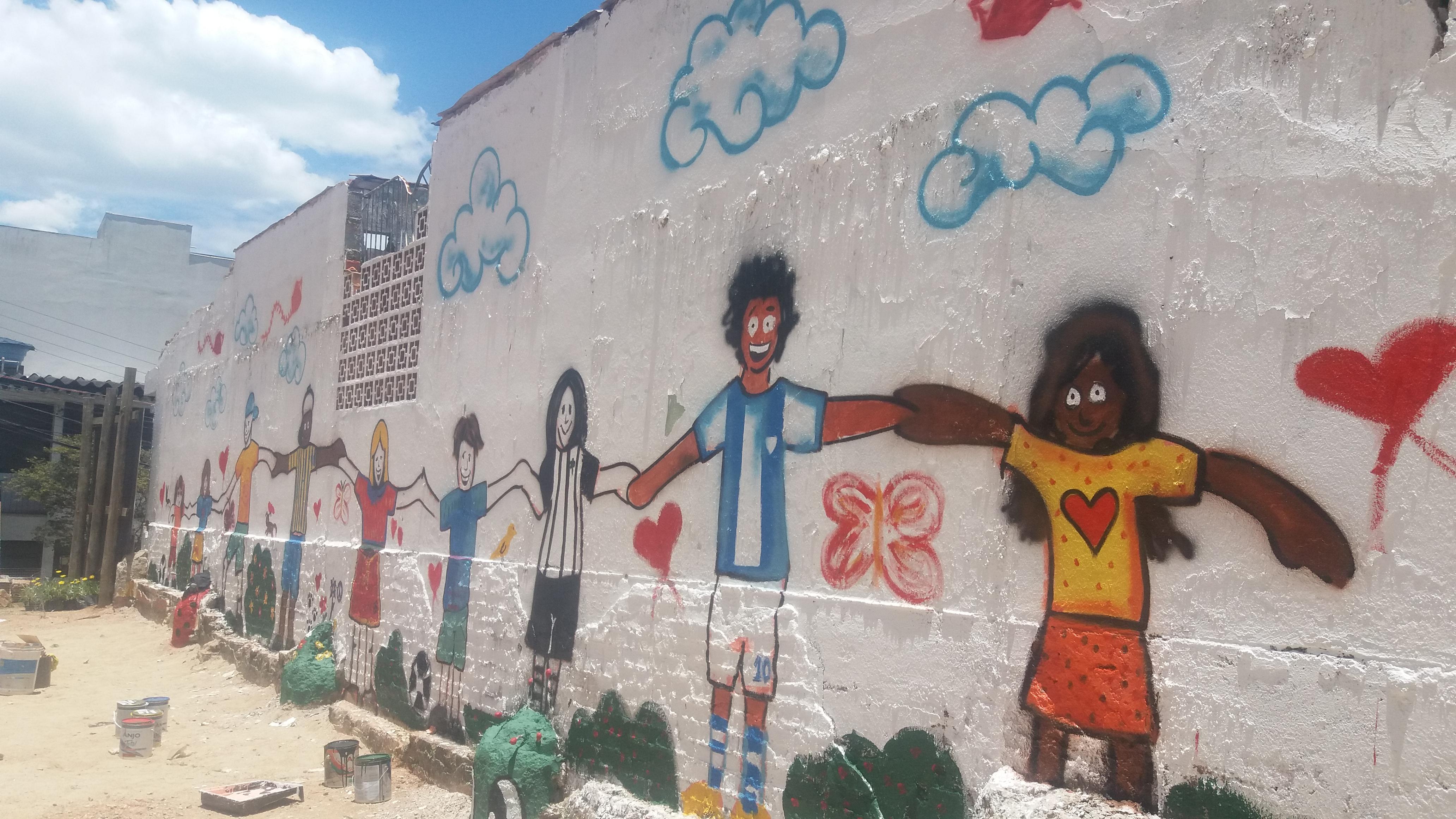 Arte Urbana Traz Vida à Futura Praça Da Criança
