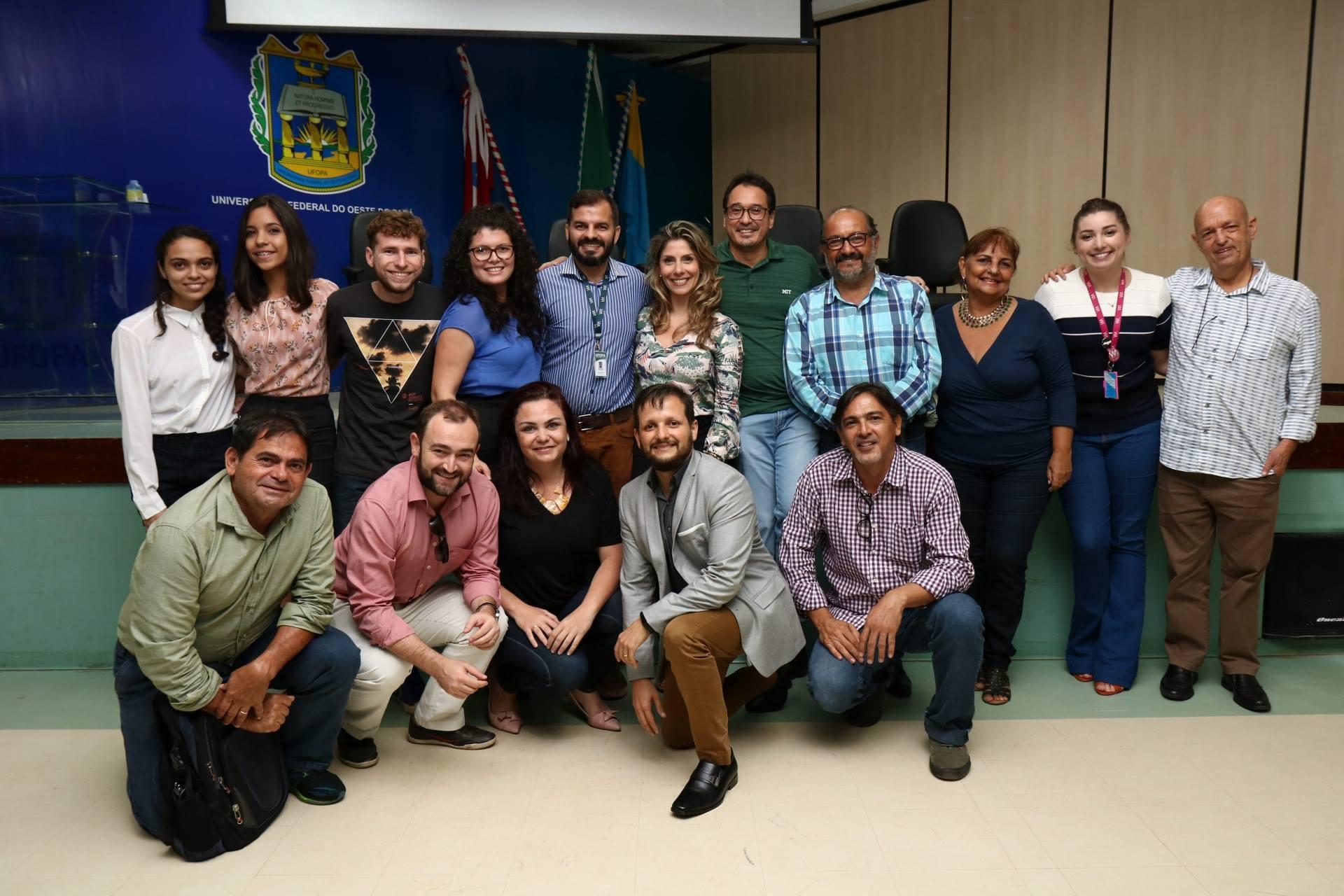 Palestrantes E Organizadores Da Semana De Inovação Tecnológica - UFOPA
