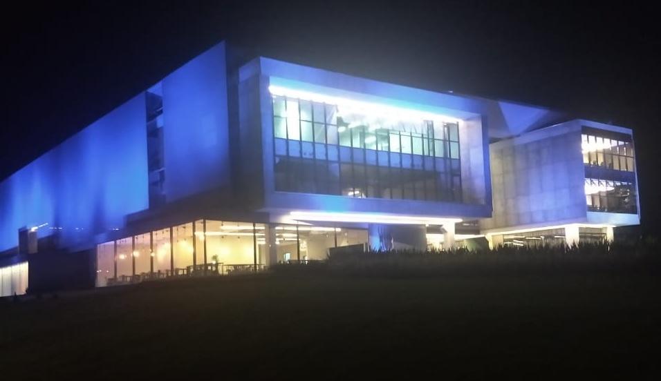 Ágora Tech Park Iluminação Noturna