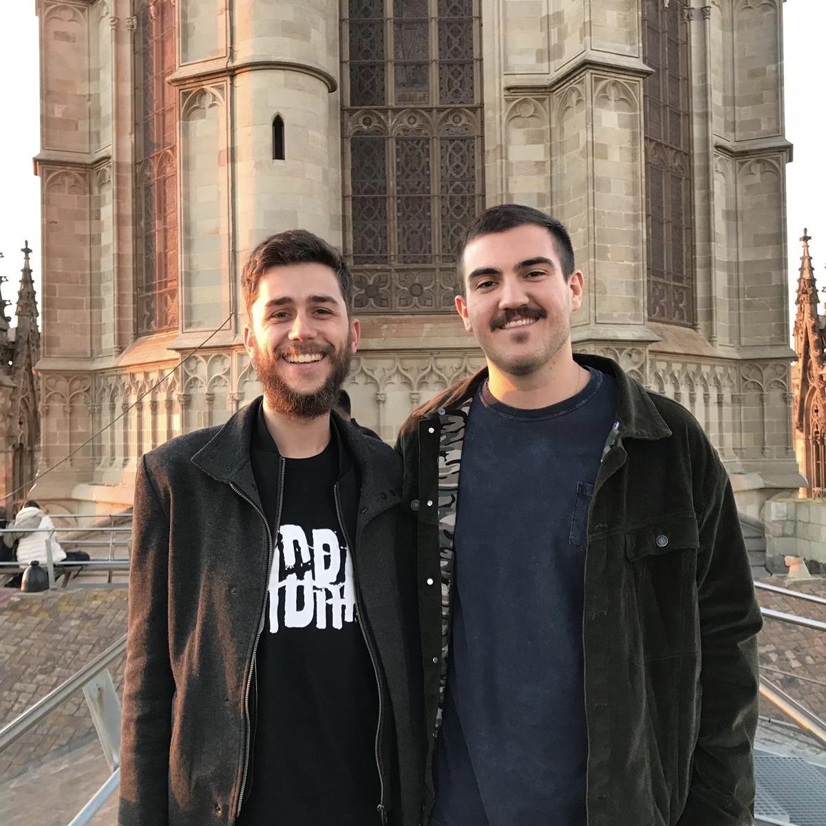 Os intercambistas conhecendo a cidade