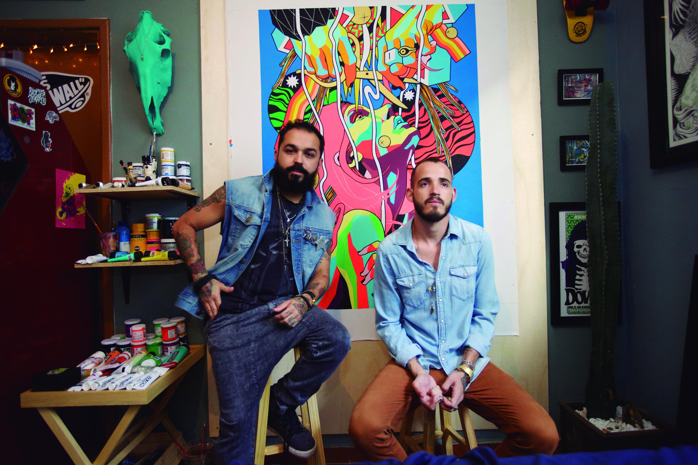 Renato E Douglas, Ilustradores E Muralistas Do Estúdio Bicicleta Sem Freio