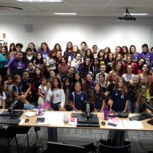 Mentoras E Participantes Do Technovation Florianópolis