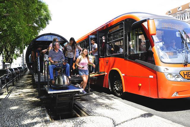 BRT Em Curitiba | Créditos: