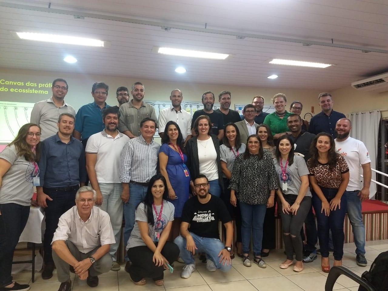 Atores Do Ecossistema De Inovação De São José E TeamVIA
