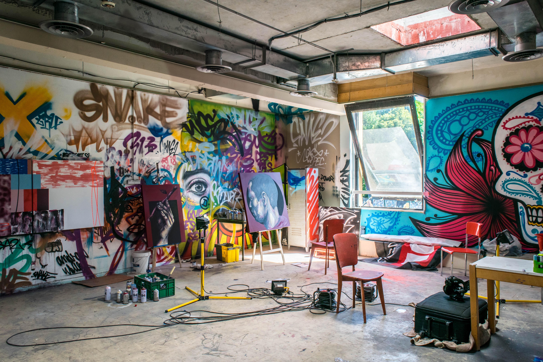 Grafites Em Distritos Criativos