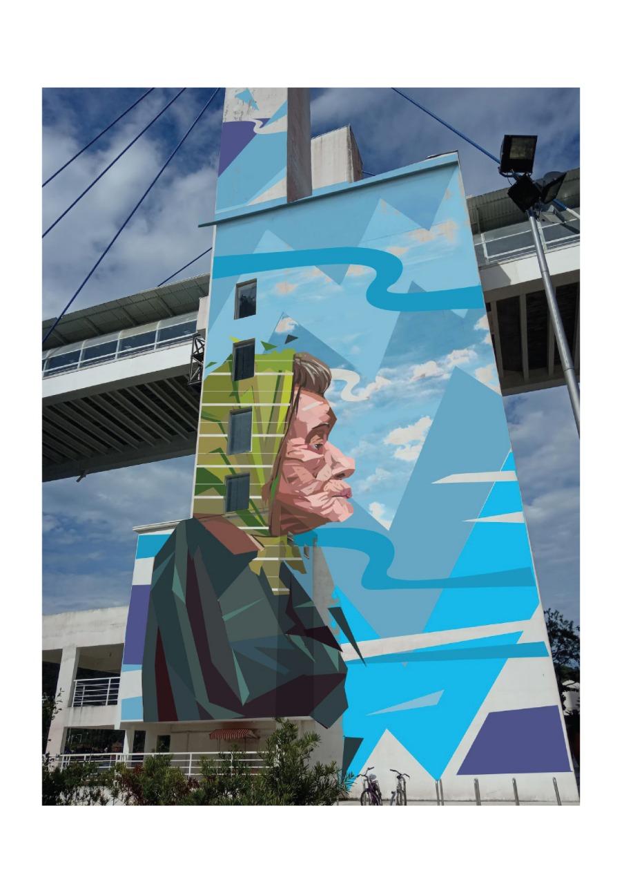 Arte Urbana Em Imagem Ilustrativa