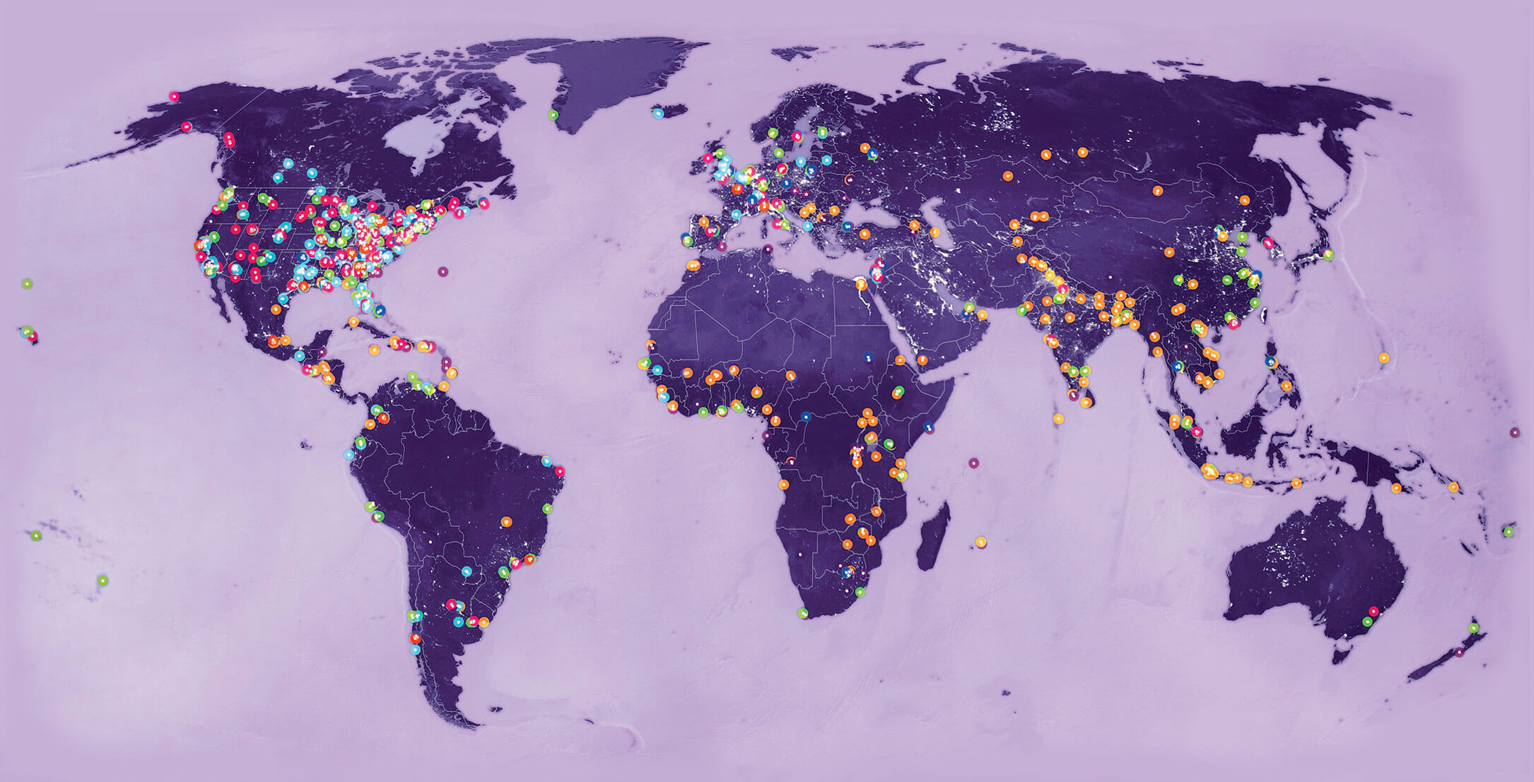 Bloomberg Philanthropies Invests In 510 Cities And 129 Countries Around The World.