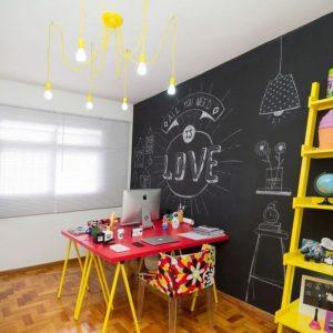 Fonte: Https://casaefesta.com/parede-lousa-na-decoracao/