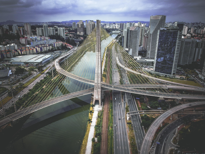 Ponte Estaiada - São Paulo | Photo By Sergio Souza On Unsplash