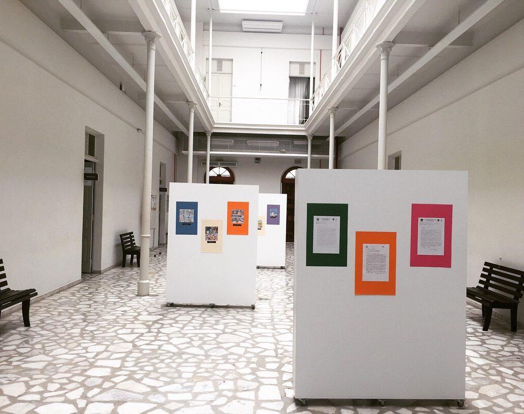 Hall Do MESC Repleto De Arte