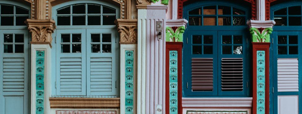 Colourful Shutters In Little India, Singapore. Photo By Annie Spratt On Unsplash