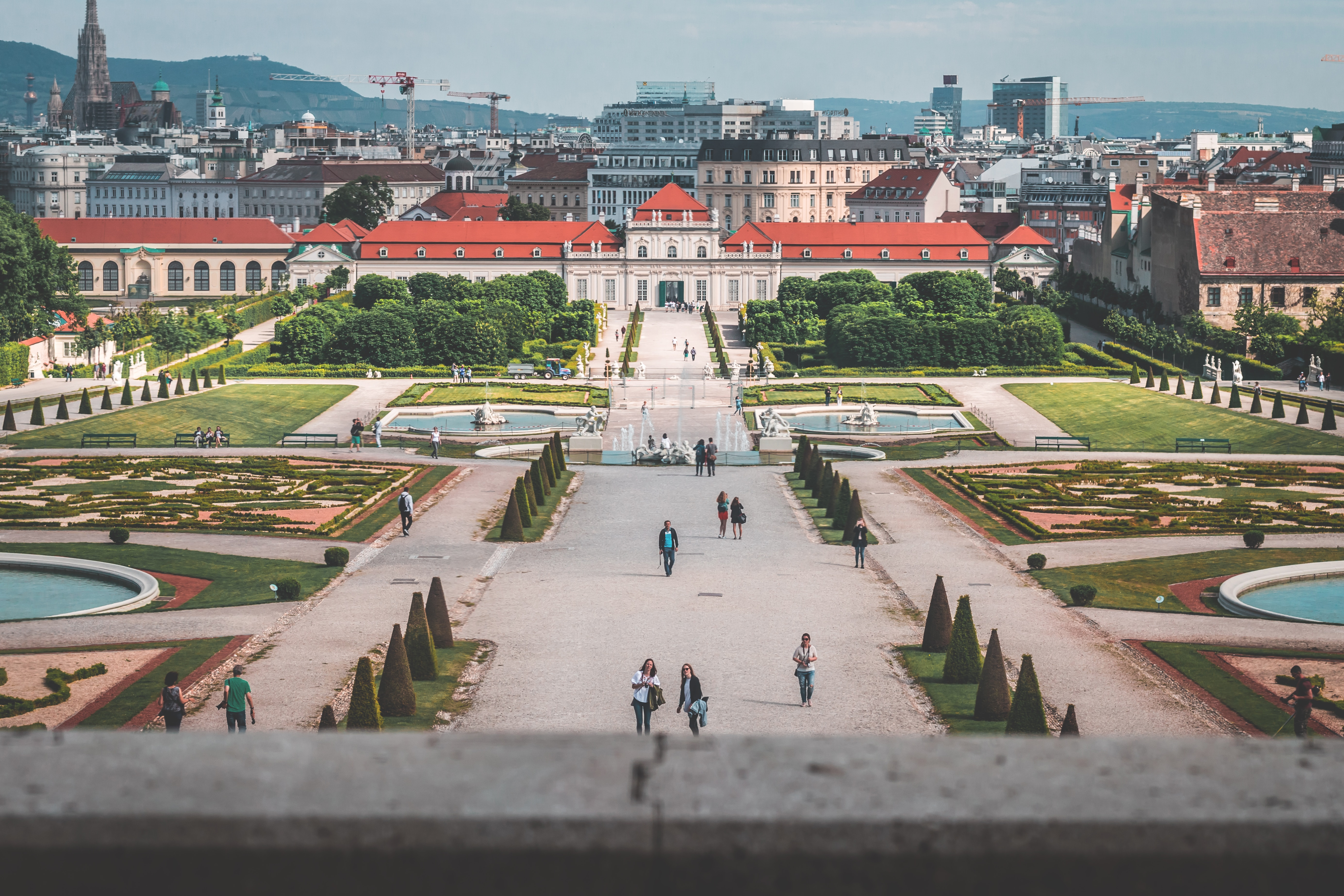 Belvedere Palace, Viena. Photo By Daniel Plan On Unsplash.
