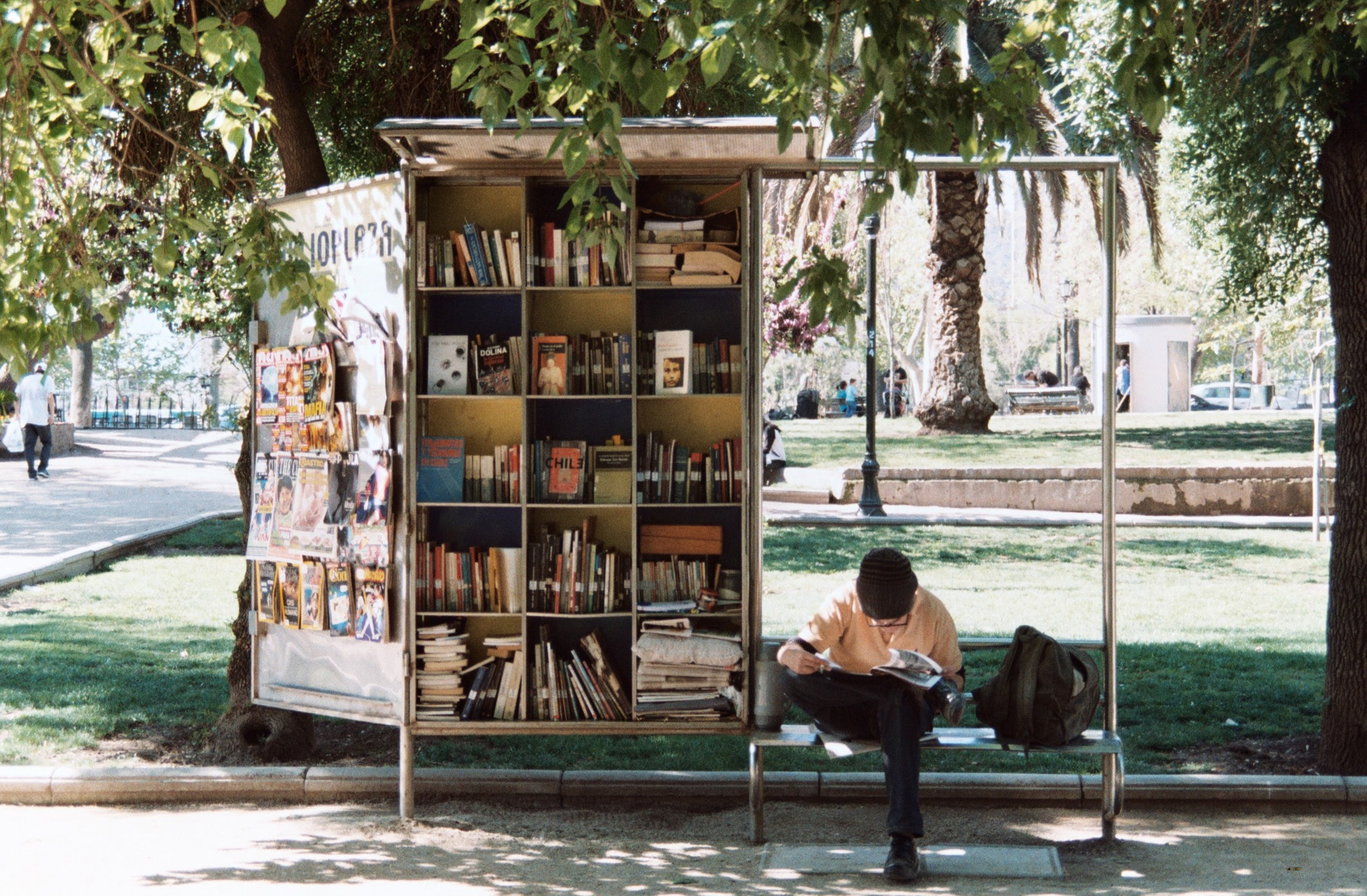 Parque Forestal, Santiago, Chile. Libreria Ambulante. Photo By Laëtitia Buscaylet On Unsplash.