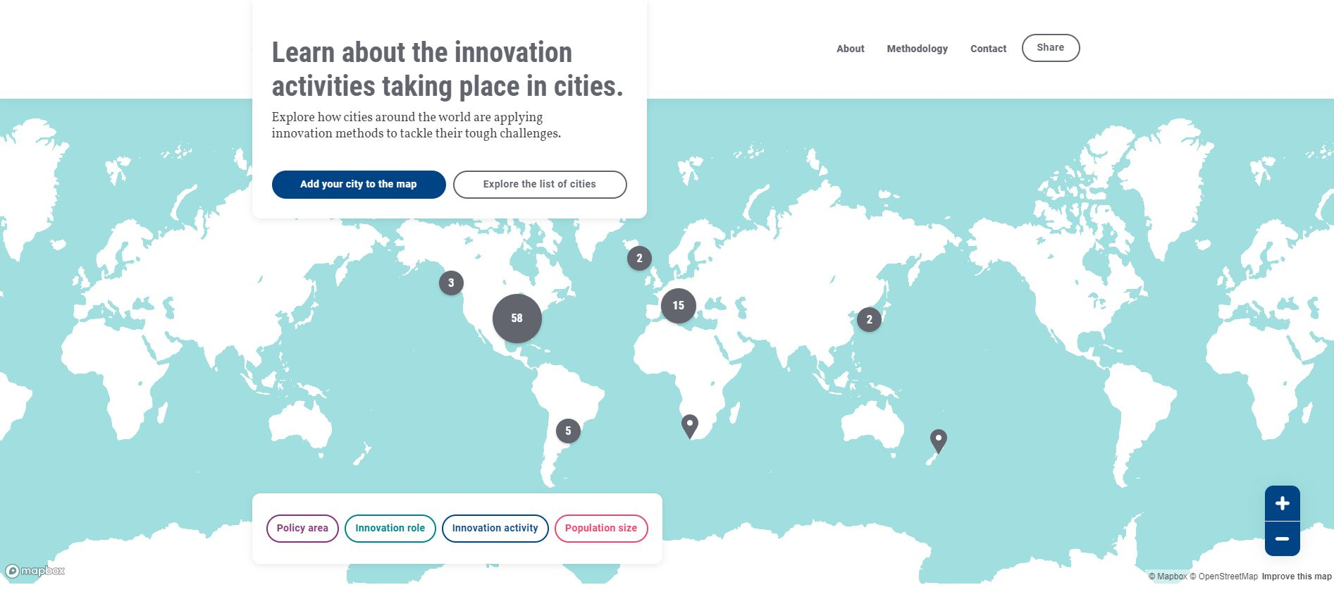 Home. City Innovation OECD.