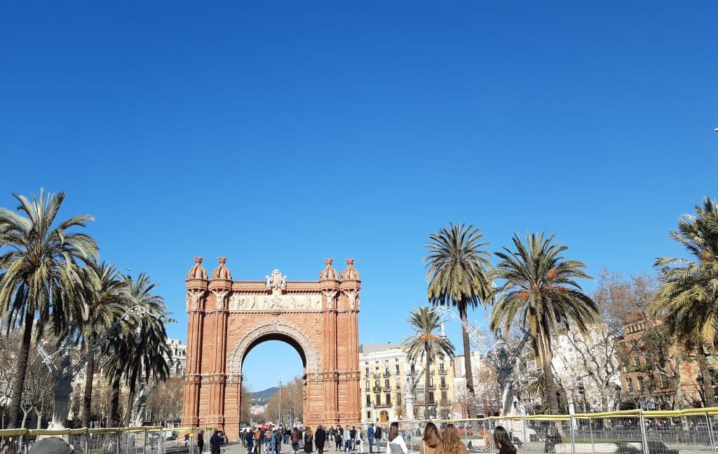 Sua Vista Para Arc De Triomphe