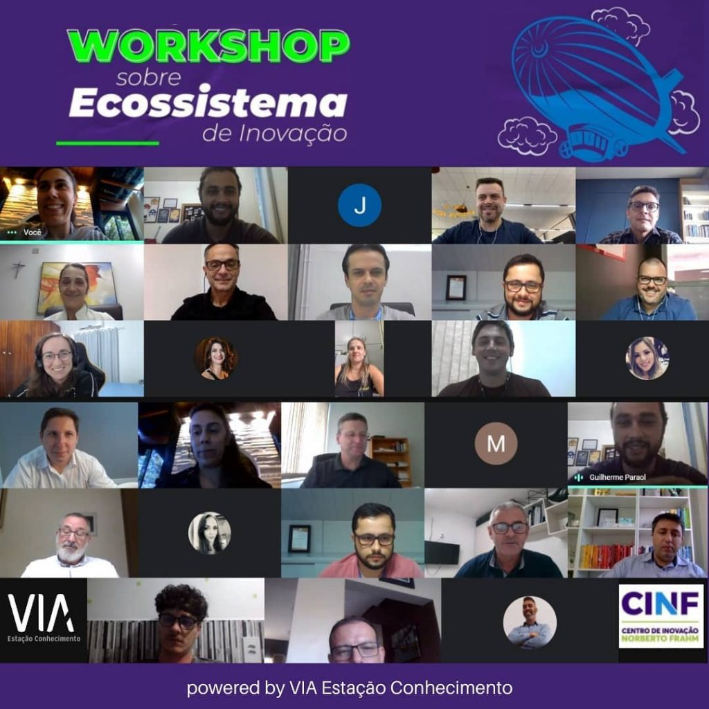 Participantes Dos Workshops De Rio Do Sul